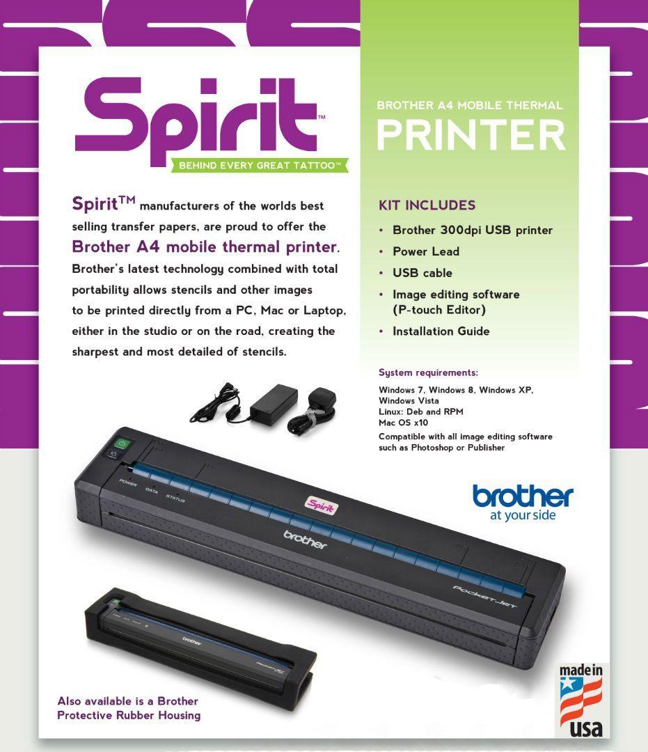 Brother - PJ 723 Printer - Showroom Model