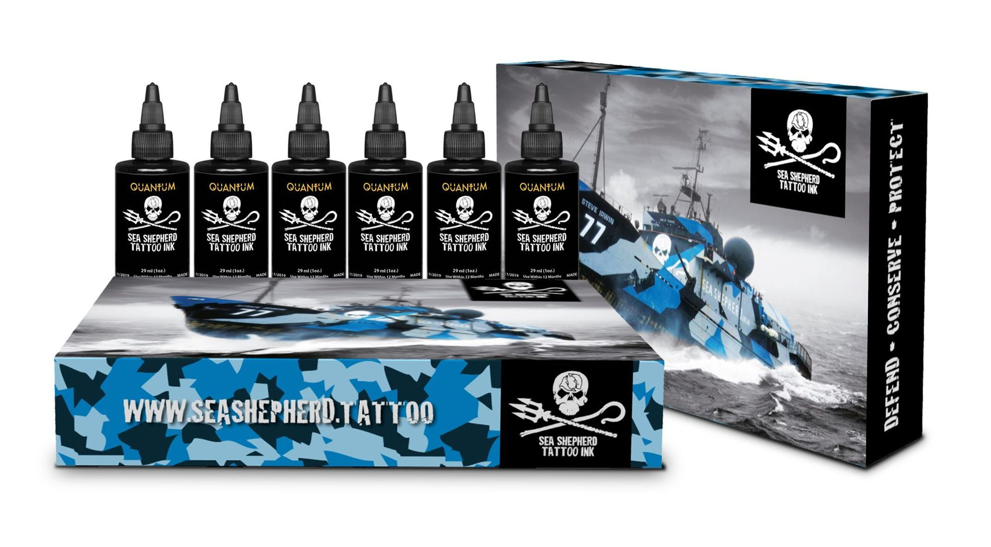 Sea Shepherd - Greywash Set