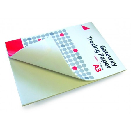 Gateway - Standaard Overtrekpapier - Verpakking van 50 Vellen