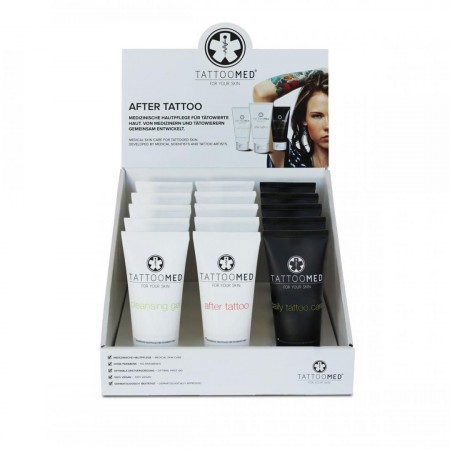 TattooMed - Cleansing Gel & After Tattoo & Daily Tattoo Care - Display van 15