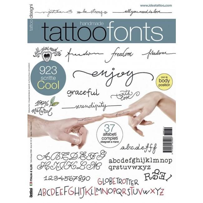Different tattoo fonts