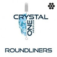 Crystal 1- Naalden - Round Liners - Strip van 5