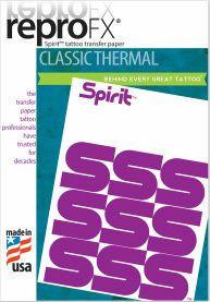 ReproFX Spirit - Classic Thermisch Transferpapier - Doos van 100 Vellen