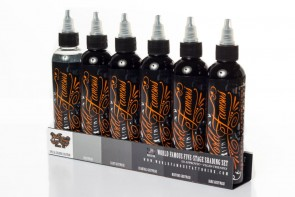 World Famous Ink - Five-Stage Shading Set - 6 x 125 ml