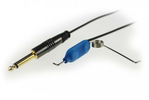 Crystal Coax Kabel - Clip Cord - Zwart