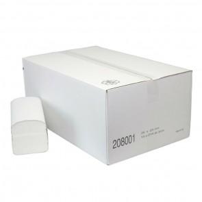 Handdoekpapier 2-Laags Z-vouw Cellulose