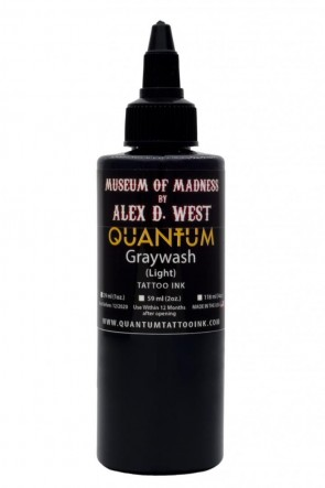 Quantum Ink - Alex D West - Light Greywash - 120 ml