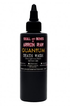 Quantum Ink - Arron Raw - Ultra Light Greywash