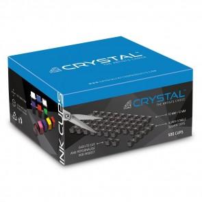 Crystal - Zwarte Inkt Cup Vellen - 500 cups