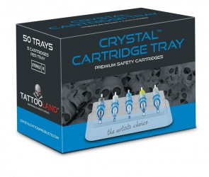 Crystal Cartridge Trays - Doos van 50