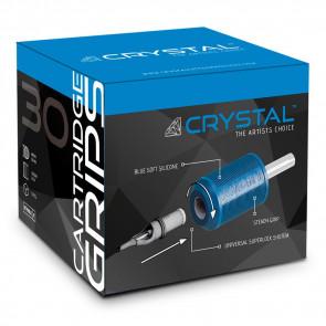 Crystal Wegwerp Cartridge Grips - 30 mm - Doos van 15