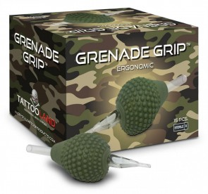 Crystal Grenade Grips - 38 mm - Flat Tip - Doos van 15
