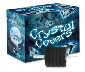 Crystal Memory Foam Grip Covers - 25 mm naar 45 mm - Doos van 15
