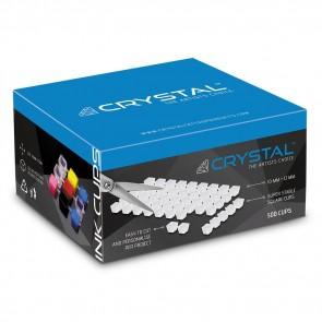 Crystal - Transparante Inkt Cup Vellen - 500 cups