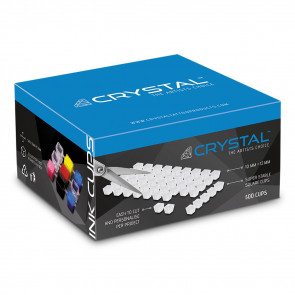 Crystal - Transparante Inkt Cup Vellen - 500 cups