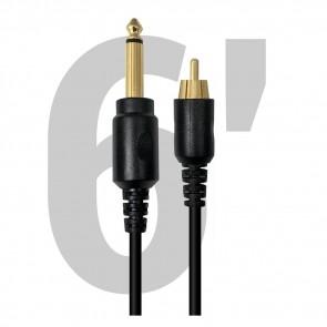 Darklab - Premium RCA Cable - Recht