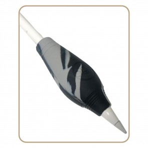 EGO Pencil Grip - 27 mm - Gemarmerd Grijs