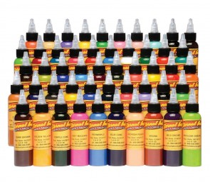Eternal Ink - 50 Colour Silver Set - 30 ml