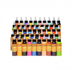 Eternal Ink - 50 Colour Silver Set - 30 ml