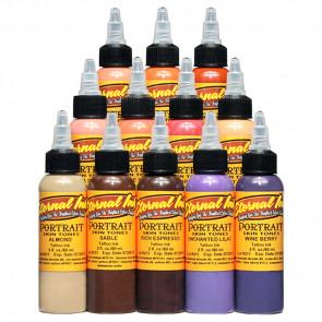 Eternal Ink - Portrait Skin Tone Set - 12 x 30 ml - [REACH BAN]