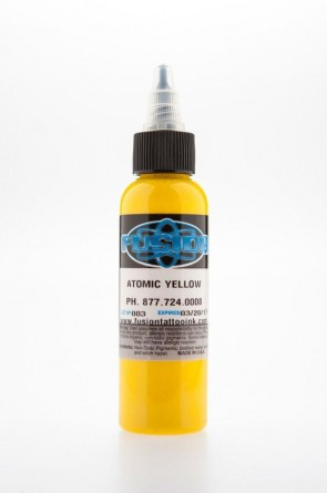 Fusion ink - atomic yellow