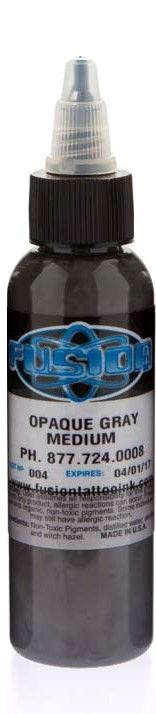 Fusion ink - opaque grey - medium