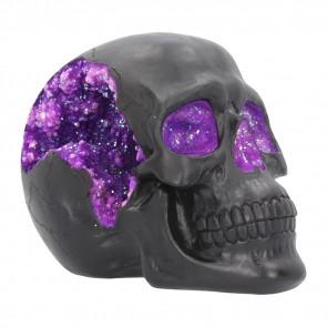 Geode Skull - 17 cm