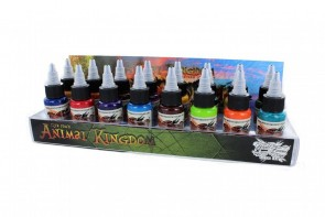 World Famous Ink - Ilya Fom's Animal Kingdom Colour Set - 16 x 30 ml