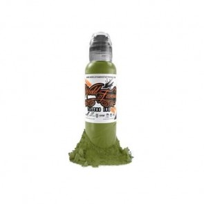 World Famous Ink - Jay Freestyle - Olive Green - 30 ml