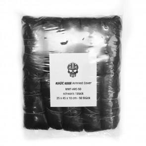 Magic Moon - Armsteun Hoezen - Zwart - Verpakking van 50