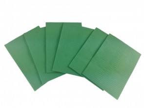 Medicom Dental Bibs - O.K Green