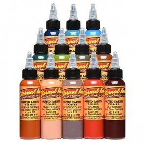 Eternal Ink - Portrait Skin Tone Set - 12 x 30 ml