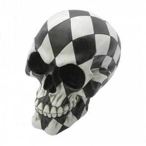 Harlequin skull - 15.8 cm