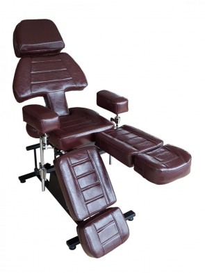 Tattoo Stoel Professional - Dark Cherry