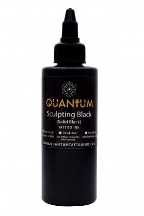 Quantum Ink - Sculpting Black
