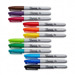 Sharpie - Fine Single Point Markers