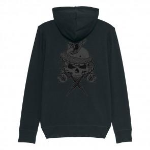 Tattooland Vest met Capuchon - Skull Design