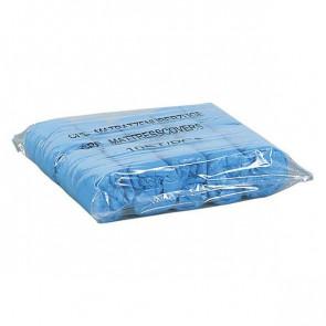 Unigloves - Wegwerp Kunststof Stoelhoezen - Blauw - Verpakking van 10