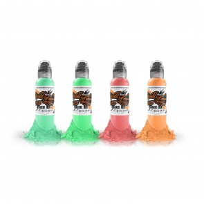 World Famous Ink - Gorsky's Retro Summer Set - 4 x 30 ml