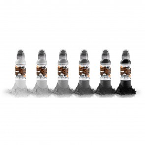 World Famous Ink - Poch's Monocromatic Set - 6 x 30 ml