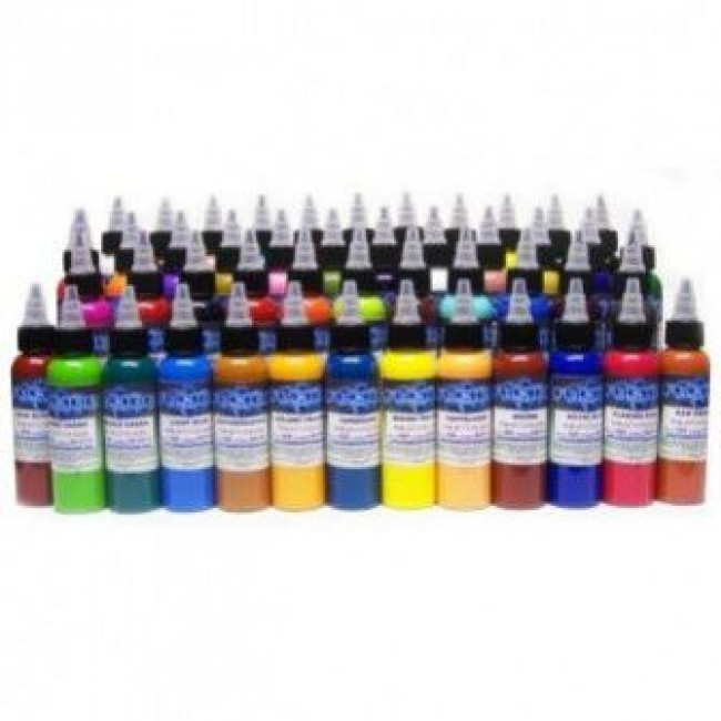 Tattooland | Fusion Ink - Standard 60 Colour Set - 30 ml / 1 oz ...