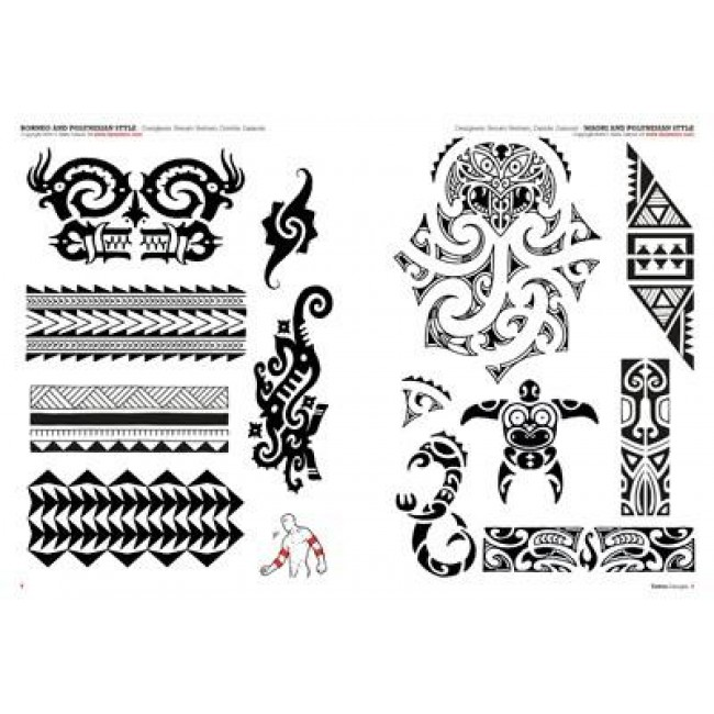 Tattoo Flash Maori: Tattoo Flash Drawings ''Tribal