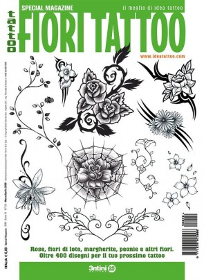 3ntini - Tattoo Flash Drawings ''Fiori Tattoo''