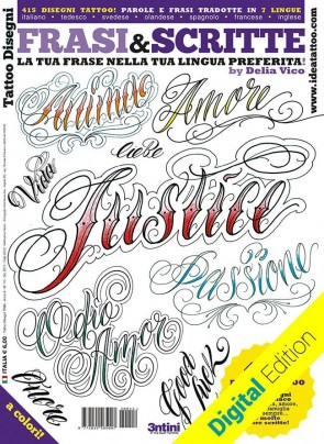 3ntini - Tattoo Flash Drawings ''Frasi & Scritte''