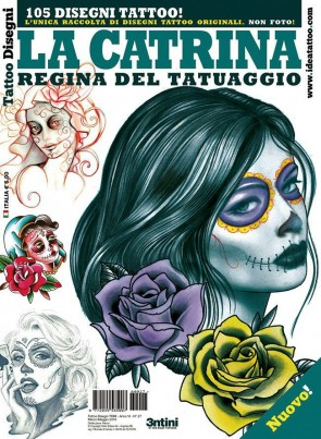 3ntini - Tattoo Flash Drawings ''La Catrina''