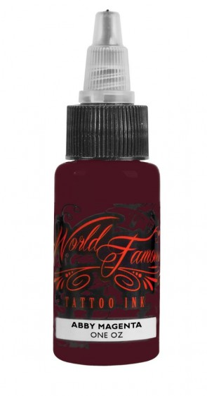 World Famous Ink - Master Mike - Abby Magenta - 30 ml / 1 oz