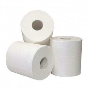 Midi Cleaning Paper - 1-Layer Cellulose - Box of 6 Rolls