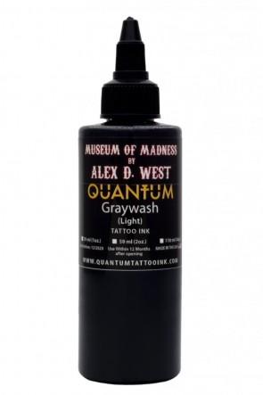 Quantum Ink - Alex D West - Light Greywash - 120 ml / 4 oz