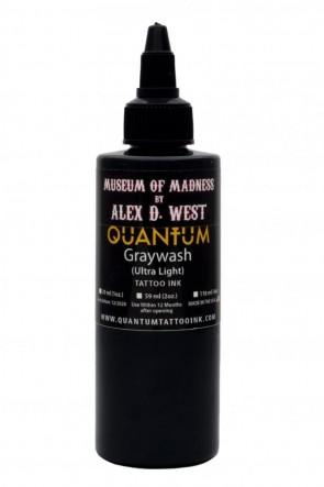 Quantum Ink - Alex D West - Ultra Light Greywash - 120 ml / 4 oz