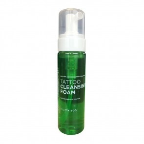 AloeTattoo - Cleansing Foam - 220 ml / 7 oz